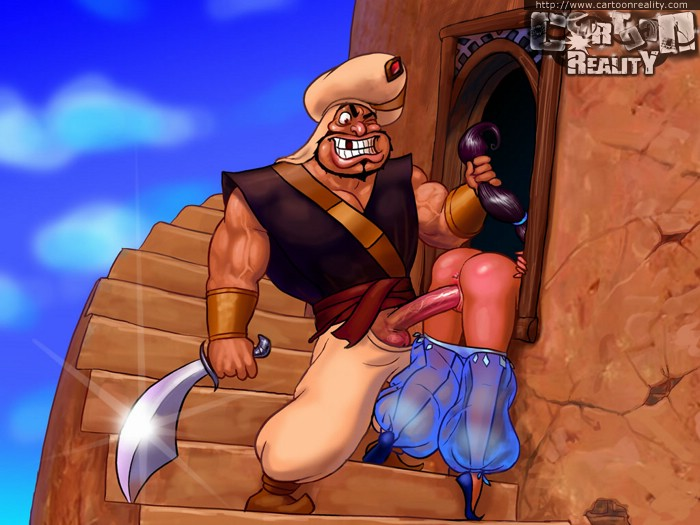 Aladdin porn cartoons