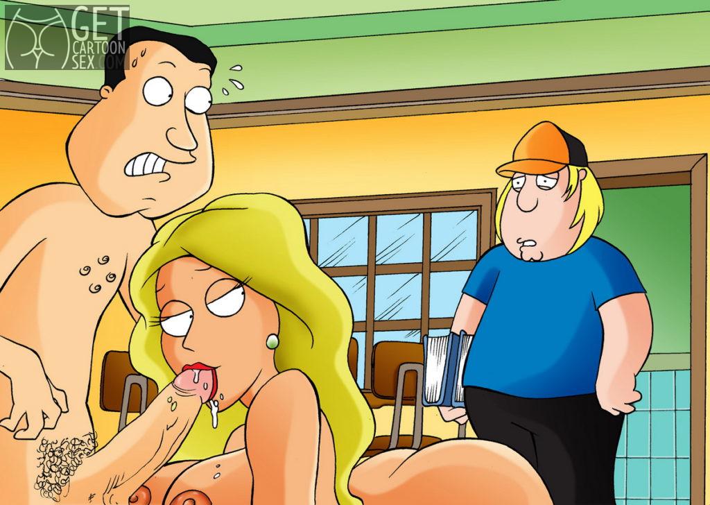 Lana Lockhart Blows Glenn Quagmire