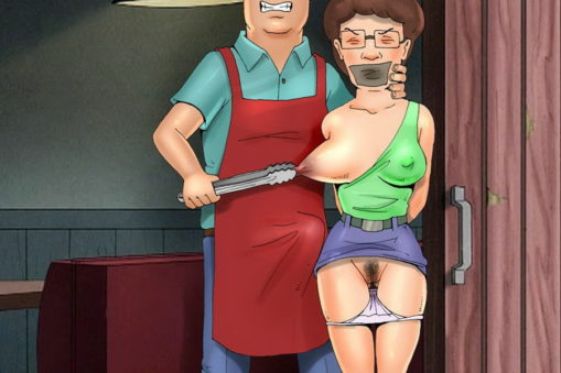 Hot Peggy Hill Clamped and Abused