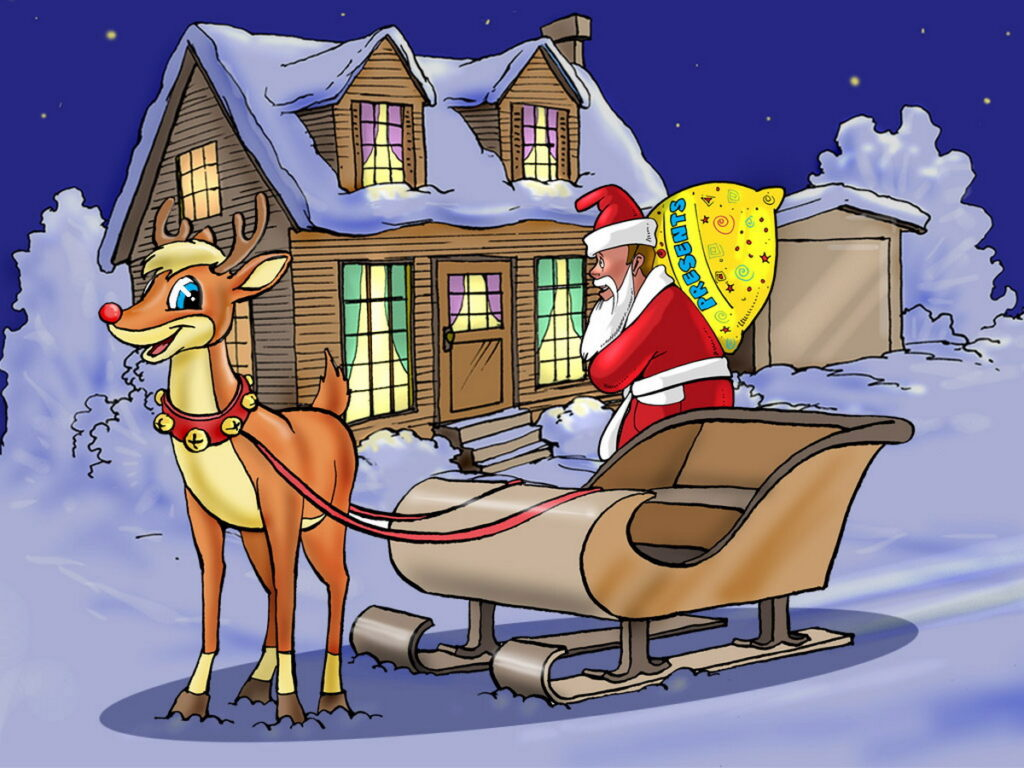Rudolph Cameo + Exterior Shot