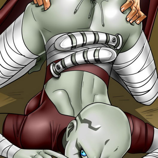 Asajj Ventress Gaped on the Battlefield