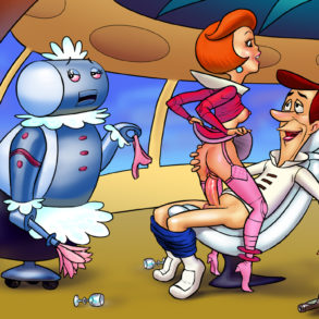 George and Jane Jetson Fuck