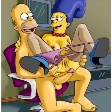 Homer and Marge Simpson Sex