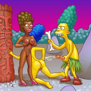 Marge Simpson, Sideshow Mel FFM