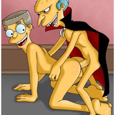 Waylon Smithers Bottoms for Mr. Burns