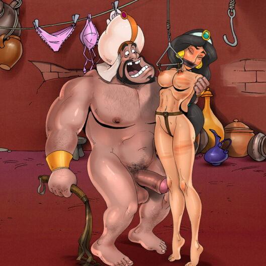 Princess Jasmine's Life-Changing Nipple Torture Session