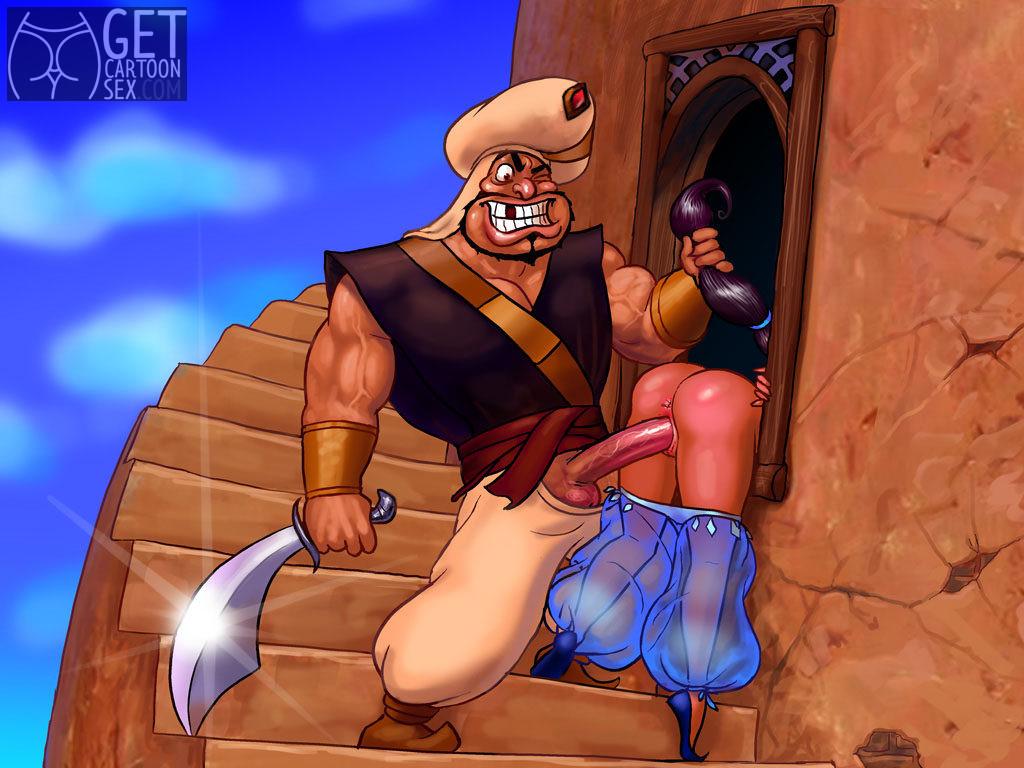 Razoul Plows Princess Jasmine