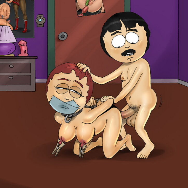 South Park Porn: Sharon Marsh Loves Pain