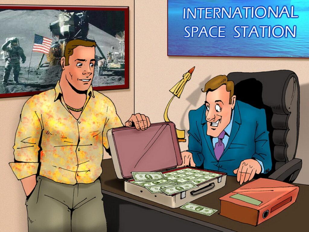 Bruce Bond is Rich When the Plot Demands It